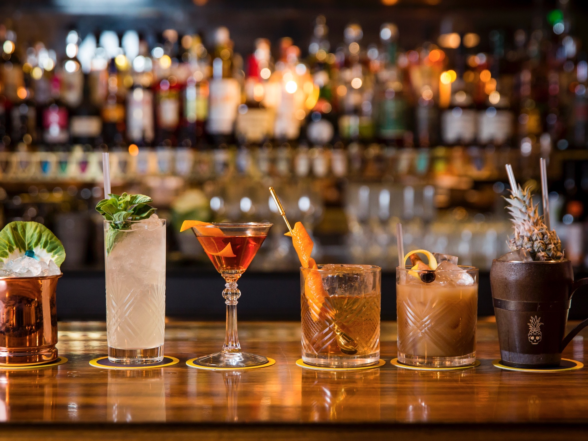 Cocktail Bars with Super-Fun Names!