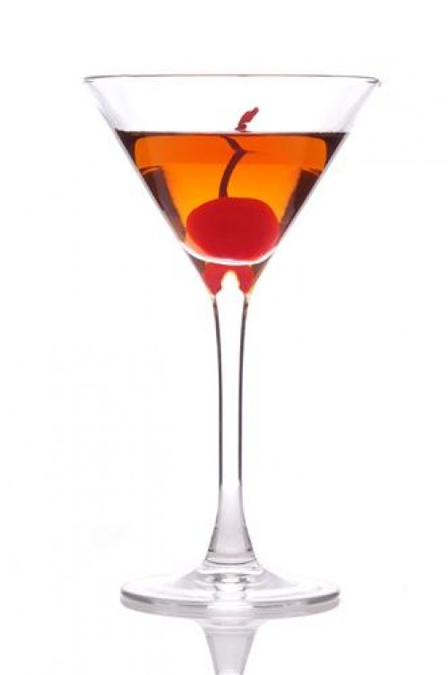 Manhattan Dry Cocktail Recipe