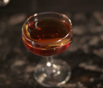The Bâton Rouge Cocktail is a Free Recipe from Make me a Cocktail!