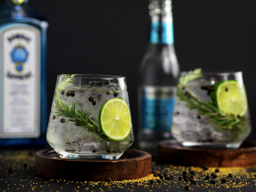Greek Gin and Tonic Cocktail Recipe