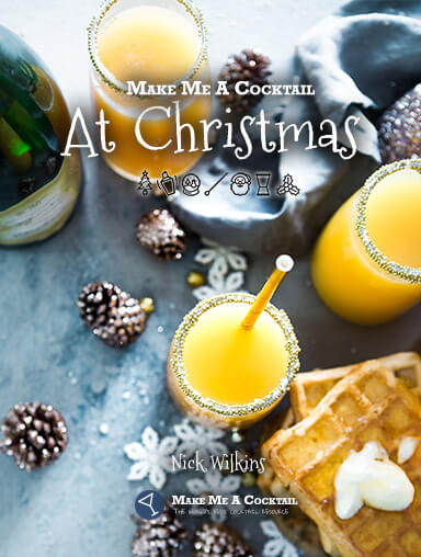 Make me a cocktail at Christmas book cover